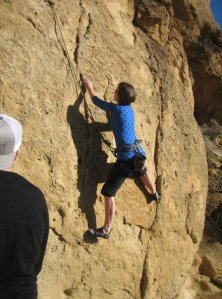 Rocking Climbing at Smith Rock