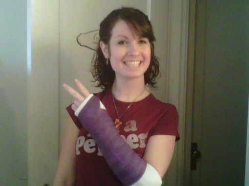 Broken Wrist from Snowboarding