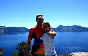 me and my big brother at crater lake