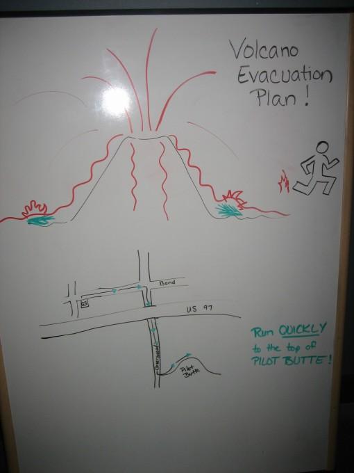 Volcano Evacuation Plan