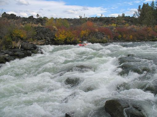 Big Eddy on the Deschutes River, OR