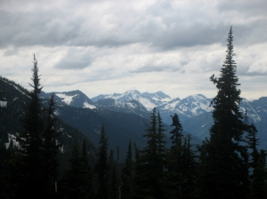 View from the top of Twisp Pass