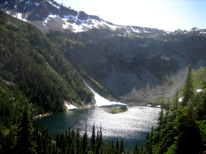 Lake Ann above Rainy Pass, WA