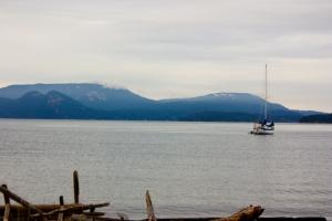 Spencer's Spit, Lopez Island WA