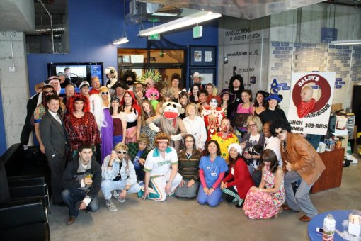 Halloween at G5 Search Marketing, Bend OR
