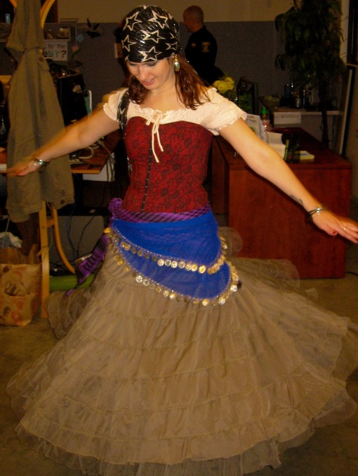 Gypsy costume, Bend OR
