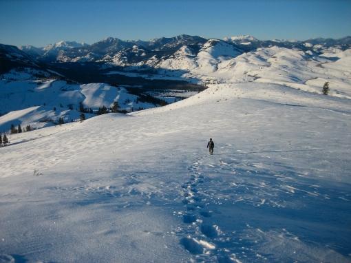 Snowshoeing North Cascades Winthrop WA