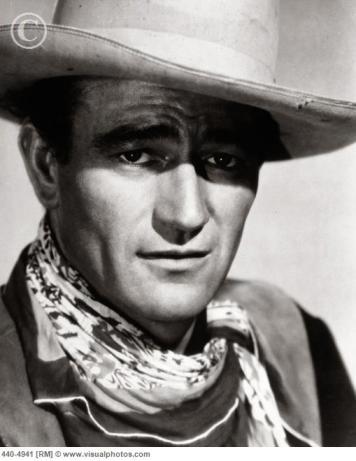 young John Wayne, American Icon