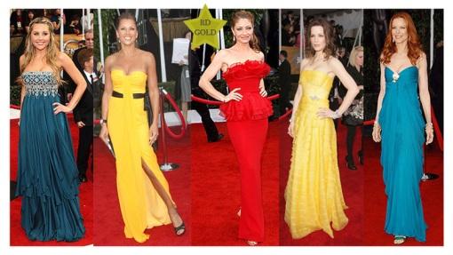 SAG awards gowns
