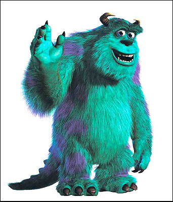 sully monsters inc social monster