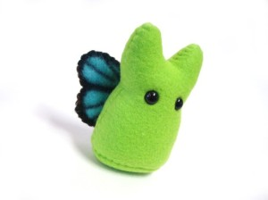 plush butterfly monster