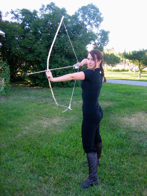 Katniss costume Hunger Games party