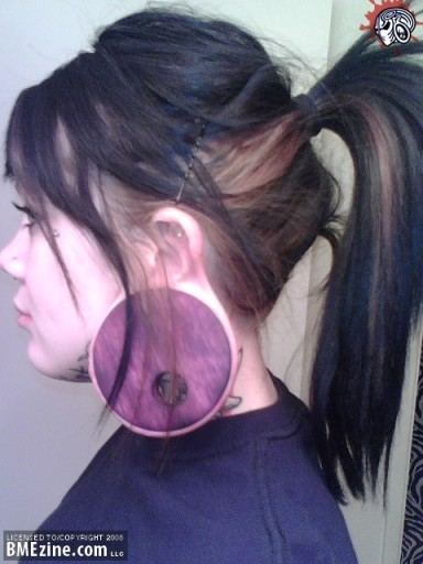 huge ear gauge