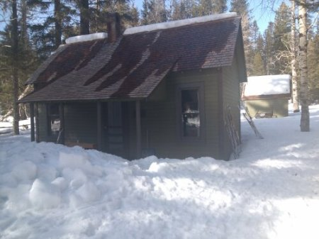Gotchen Cabin, Gifford Pinchot National Forest