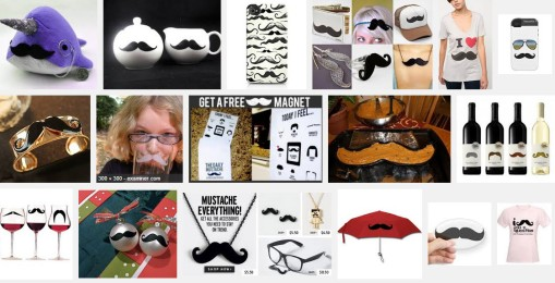 mustache products