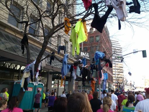 shirt donation, Bloomsday 2013 Spokane WA