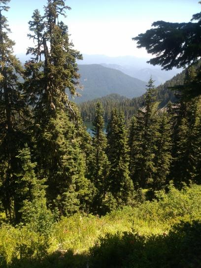 Soda Peaks Lake, Cascade Mountains, WA