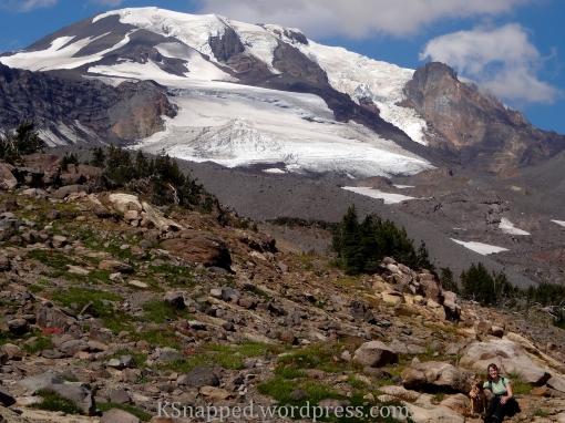 Mazama Glacier, Mt Adams WA, Yakima Reservation