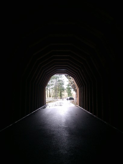 historic tunnel, Historic Columbia River Highway OR
