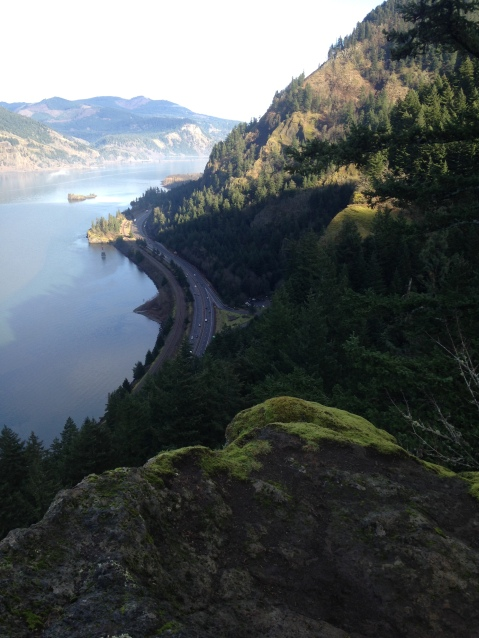 Starvation Creek Falls trail, Columbia Gorge OR