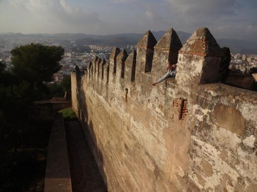 Castillo de Gibralfaro, Malaga Spain