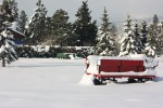 snow wagon Hood River OR winter 2017