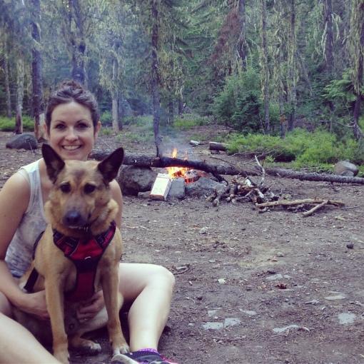 camping Trapper Creek WA
