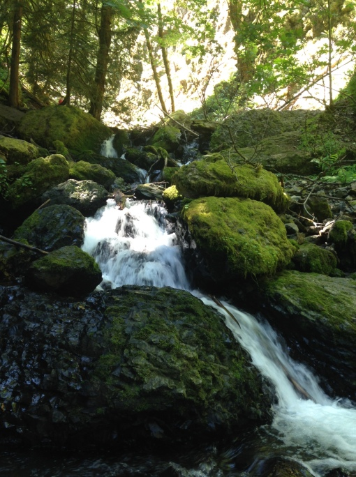 Emerald Falls, Wyeth, hiking in the Columbia Gorge