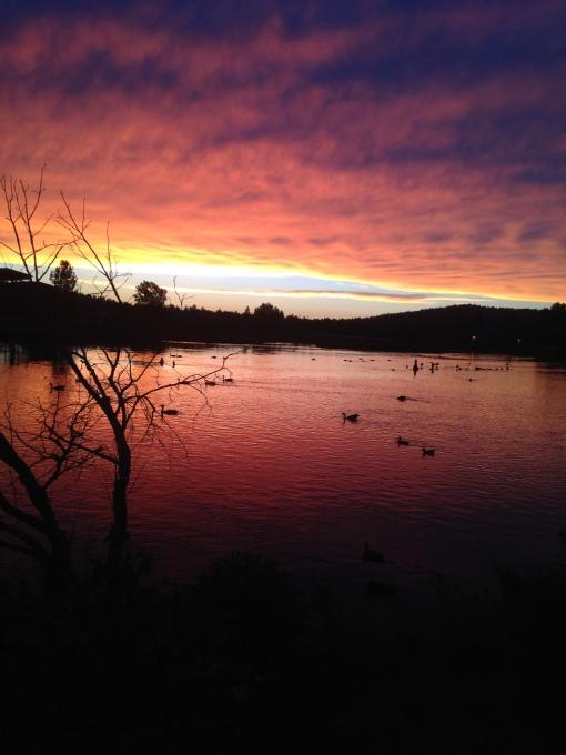 central Oregon summer sunset Bend OR