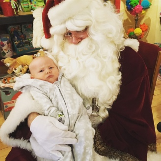 baby's first Santa, Hood River OR