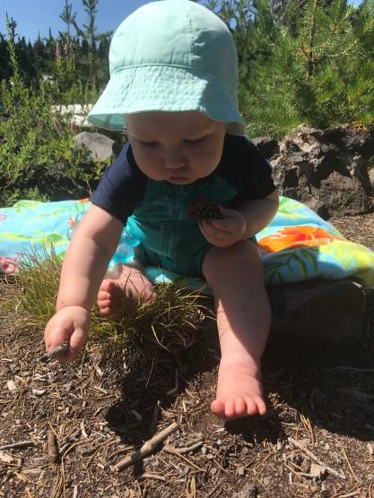 PNW baby at Elk Lake OR